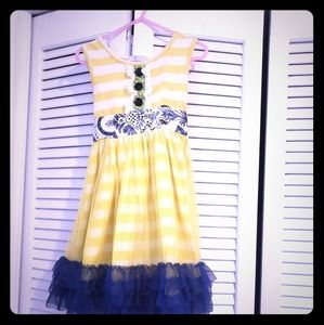 Super cute girls boutique dress